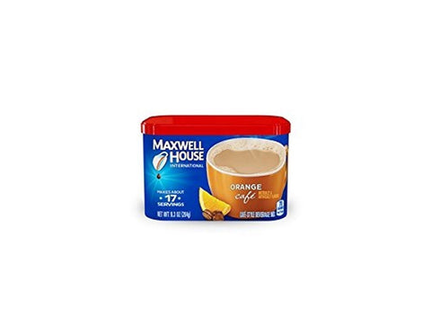 Maxwell House International Coffee Orange Cafe 9.3-Ounce Container (Pack of 4) - Chickadee Solutions - 1