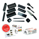 Complete 15 Piece Sushi Making Kit by KitchenBoosterz - Molds for 8 Different... - Chickadee Solutions - 1