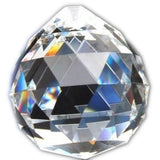 Hierkryst 1.2 Inch Clear Crystal Ball Drop Prisms Pack of 5 30mm/1.18 - Chickadee Solutions - 1