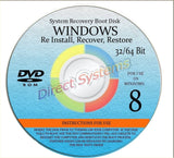 NEW WINDOWS 8 ANY & ALL Versions of 64 Bit Home Basic & Home Premium Repair R... - Chickadee Solutions