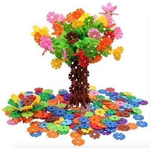 AWESOME Flakes 400 Discs in Jar Reusable Colorful Toys Building Set Therapy T... - Chickadee Solutions - 1