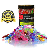 WowCrafts Wonder Clips (Pack of 50) - Chickadee Solutions - 1