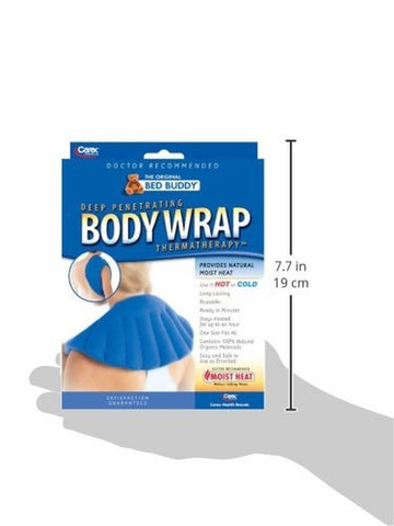 bed buddy body wrap instructions