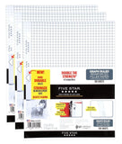 "Five Star Filler Paper Graph Ruled Reinforced Loose Leaf 11 x 8-1/2"" 100 Shee... - Chickadee Solutions - 1"