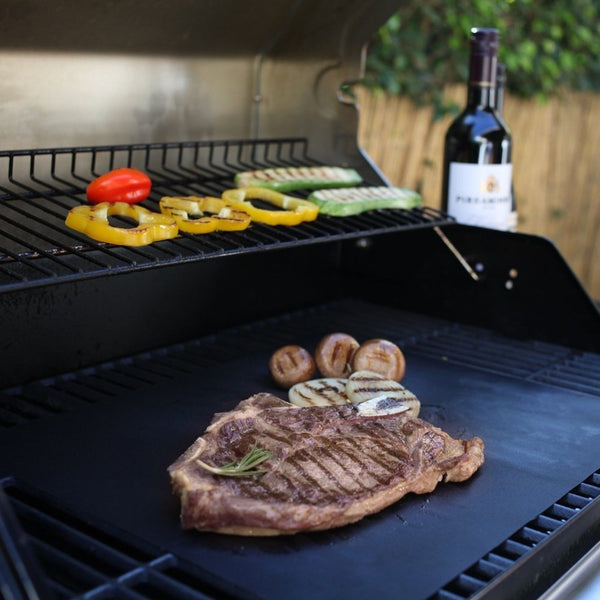 La chef bbq grill mat as seen on tv mats for
