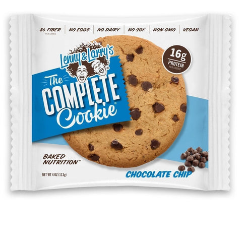 Lenny & Larry's The Complete Cookie Chocolate Chip 4-Ounce Cookies (Pack of 12) - Chickadee Solutions - 1