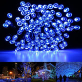 HDS-TEK HDS-LED-L Decorative Solar Powered Christmas Lights 200 LED String Li... - Chickadee Solutions - 1