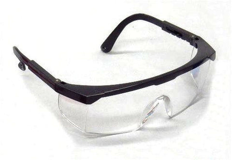 SEOH Safety Glasses BLACK Frame - Chickadee Solutions