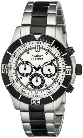 Invicta Men's 12843 Specialty Chronograph Silver Dial Watch - Chickadee Solutions - 1