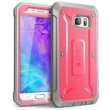 Galaxy S6 Case SUPCASE Full-body Rugged Holster Case with Built-in Screen Pro... - Chickadee Solutions - 1
