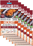 Smoker Bags - Set of 6 Hickory Smoking Bags for Indoor or Outdoor Use - Easil... - Chickadee Solutions