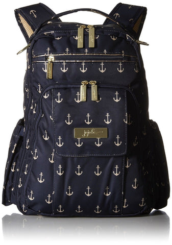 Ju-Ju-Be Legacy Nautical Collection Be Right Back Backpack Diaper Bag The Adm... - Chickadee Solutions - 1
