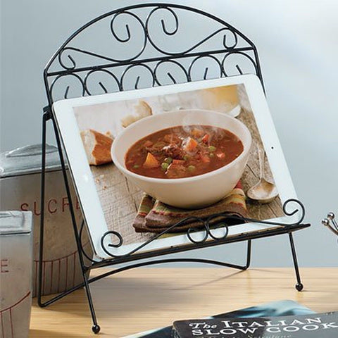 Wire Cookbook Holder - Chickadee Solutions