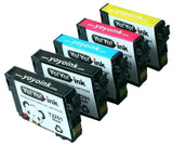 YoYoInk 5 Pack Remanufactured Ink Cartridge Replacement for Epson 220XL (2 Bl... - Chickadee Solutions - 1