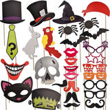 Joyin Toy 30 Pcs Halloween Party Favor Photo Booth Props - Chickadee Solutions - 1
