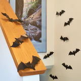 "Prextex Halloween Dcor Set of 18 Realistic Looking Spooky 9"" PVC Bats and She... - Chickadee Solutions - 1"