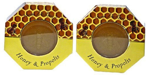 Manuka Honey and Propolis Soap - Set of Two - Chickadee Solutions