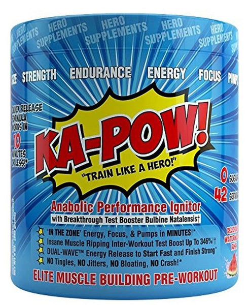 ka-pow the fastest hitting anabolic pre workout