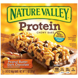 Nature Valley Protein Chewy Bars - Peanut Butter Dark Chocolate - 7.1 oz - 5 ct - Chickadee Solutions - 1