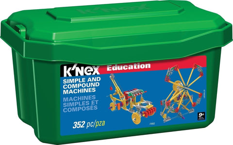 K'NEX Education - Simple and Compound Machines Set - Chickadee Solutions - 1