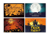 Lown Design 4 Design Total 32 Chalkboard Note Cards For $13.99 Happy Hallowee... - Chickadee Solutions - 1