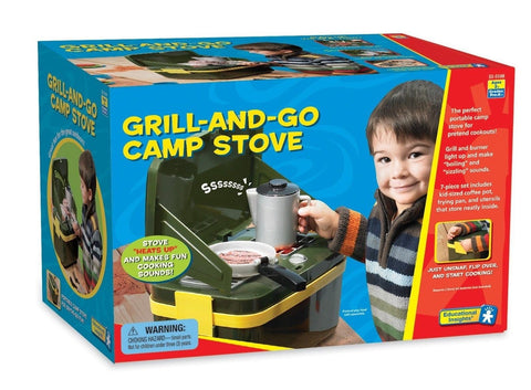 Educational Insights Grill-And-Go Camp Stove - Chickadee Solutions - 1