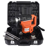 "1-1/2"" SDS Electric Rotary Hammer Drill Plus Demolition Bits Variable Speed New - Chickadee Solutions - 1"