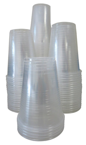 Crystalware Plastic Cups 9 oz. 80 count Clear - Chickadee Solutions - 1