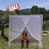 Now 45% off | The Best Mosquito Net for Single Bed Canopy by #1 EVEN Naturals... - Chickadee Solutions - 1