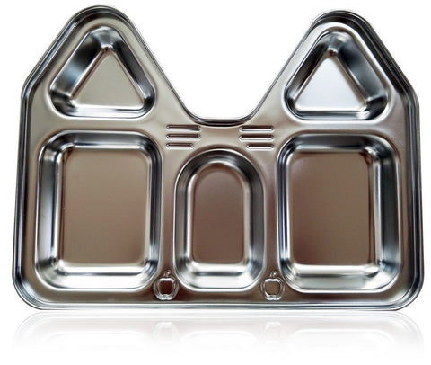 Stainless Steel Section Plate Castle (House) Shape - LIFETIME - Highest Quali... - Chickadee Solutions - 1