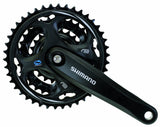 Shimano FC-M311-L Alivio/Acera/Altus Chain Wheel Set (Black) - Chickadee Solutions