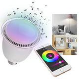 ieGeek Bluetooth Smart LED Music Bulb Smartphone Controlled RGBW Color Changi... - Chickadee Solutions - 1