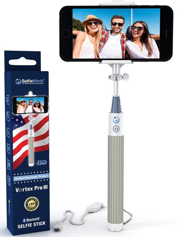 Selfie Stick Bluetooth (Made With USA Technology) Monopod - Advanced Wireless... - Chickadee Solutions - 1