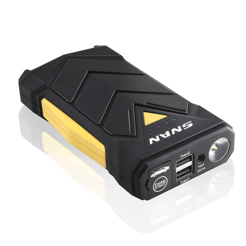 Snan Car Jump Starter 12000Mah Portable Car Battery Charger Auto Battery  For