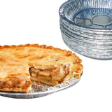 "9"" Aluminum Foil Pie Pans. Disposable Tin Plates for Pies Tart Quiche. (Pack ... - Chickadee Solutions - 1"