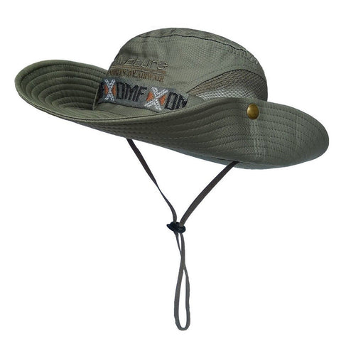 Lethmik boonie hat summer fishing sun hat outdoor for Fishing sun hat
