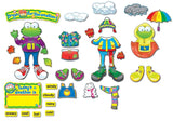 Carson Dellosa Weather Frog Bulletin Board Set (110079) - Chickadee Solutions