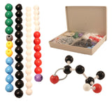 Molecular Model Kit for Organic & Inorganic Chemistry - 50 Atoms & 90 Bonds (... - Chickadee Solutions - 1