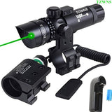 TZWNS Red Dot Scope 3 Modes Zoomable Laser Sight Scope With Free 20mm 2 Mount... - Chickadee Solutions - 1