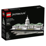 LEGO Architecture 21030 United States Capitol Building Kit (1032 Piece) - Chickadee Solutions - 1
