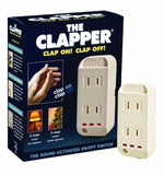 The Clapper Sound Activated On/Off Switch 1 Each - Chickadee Solutions - 1