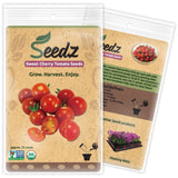 CERTIFIED ORGANIC SEEDS (Approx. 75) - Sweet Cherry Tomato - Heirloom Tomato ... - Chickadee Solutions - 1