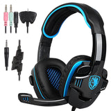 SADES SA-708 GT Stereo HiFi Gaming Headphone Headset with Microphone for XBOX... - Chickadee Solutions - 1