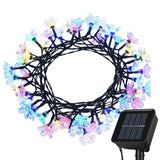 Litom Solar Outdoor String Lights 50 LED Solar Multi-Color Blossom Decorative... - Chickadee Solutions - 1