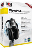 WavePad Sound Editor Software (Mac OS X Win XP/Vista/7) - Chickadee Solutions - 1
