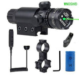 WNOSH Adjustable Shockproof 532nm Tactical Green Dot Laser Sight Rifle Gun Sc... - Chickadee Solutions - 1