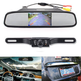 "Backup Camera and Monitor KitChuanganzhuo 4.3"" Car Vehicle Rearview Mirror Mo... - Chickadee Solutions - 1"