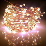 Fairy Lights XX-long 60 ft / 360 Leds. For Room Decorations and Outdoors. Sof... - Chickadee Solutions - 1