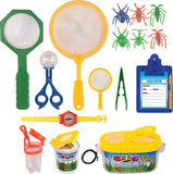 Kangaroo's Insect Bug Adventure Set; 18 Pc Backyard Exploration Kit - Chickadee Solutions - 1