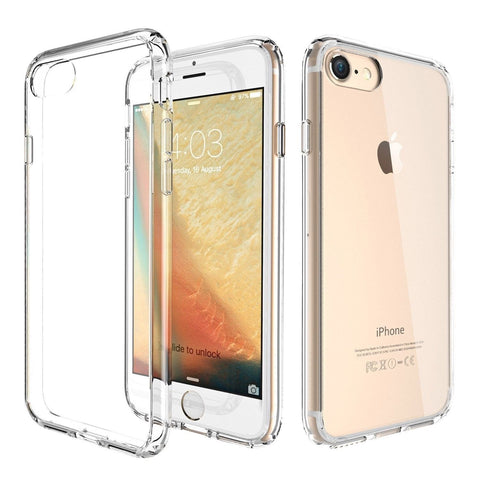 iPhone 7 Case ATGOIN Utmost Hybrid Crystal Clear Flexible TPU Hybrid Protecti... - Chickadee Solutions - 1